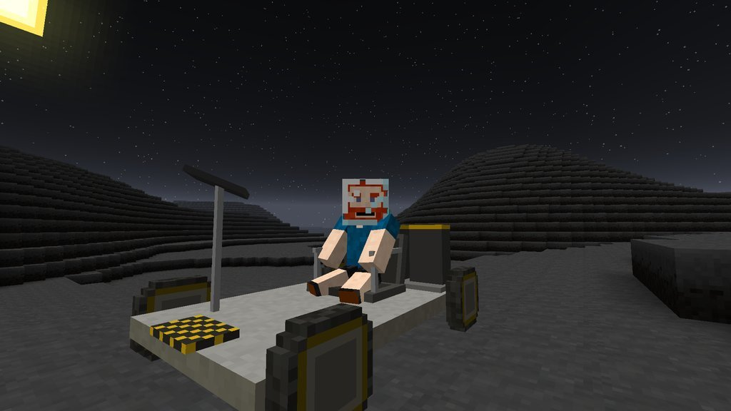 minecraft driveable space vehicles mod
