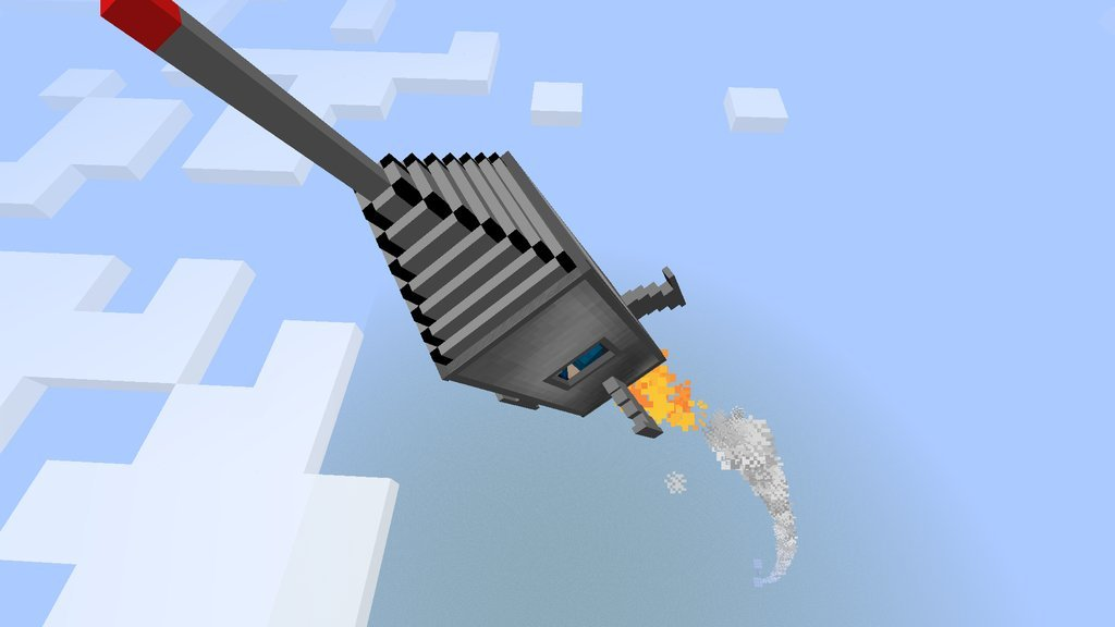 minecraft spaceship mod download