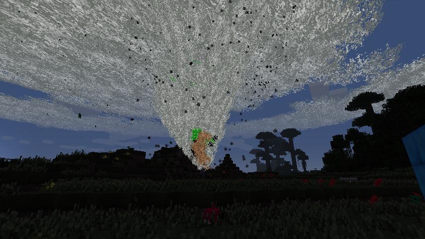 minecraft tornado storm mod