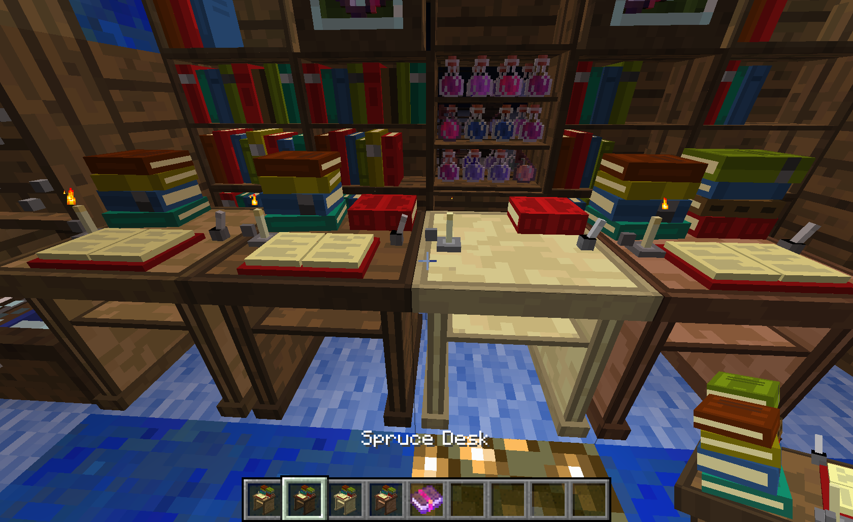 Bibliocraft, minecraft book and storage mod