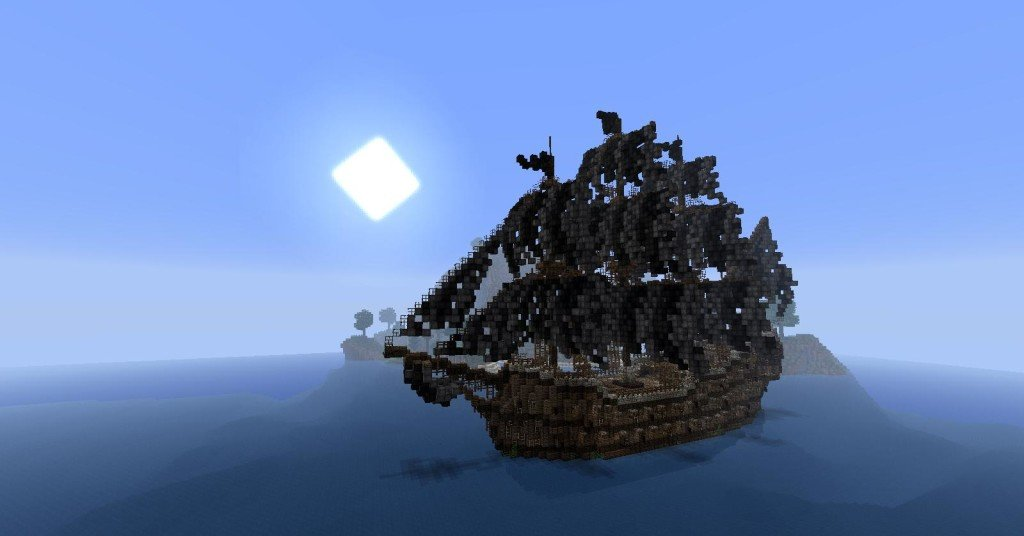 minecraft pirate ship download